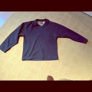 GAP fleece V-neck sweater